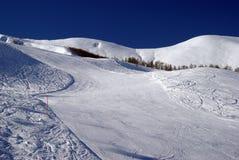 Ski slope. To ski resort Royalty Free Stock Photos