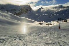Ski Slope Fotos de archivo libres de regalías
