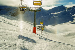 Ski Slope Imagen de archivo