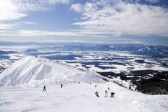 Ski slope Stock Images