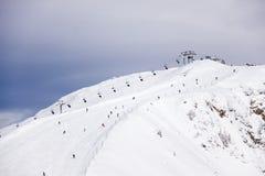 Ski slope Royalty Free Stock Images