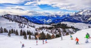 Ski Slope in Austria Royalty Free Stock Images