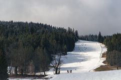 Ski Slope Stock Photography