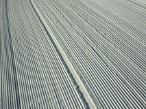 Ski slope closeup Royalty Free Stock Photo