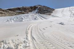 Ski Slope Glacier Royalty Free Stock Photo