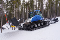 Ski slope groomer Royalty Free Stock Photography