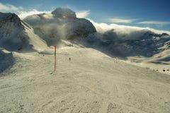 Ski Slope HDR Fotos de Stock