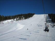 Ski slope - Sälen Sweden Royalty Free Stock Image