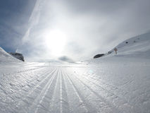 Ski slope Stock Images