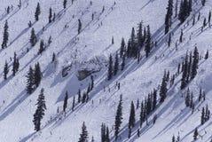 Ski slope in utah Stock Photos