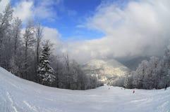 Free Ski Slope (winter Mountain Landscape) Royalty Free Stock Photo - 15073735