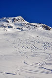 Ski slopes. In Hochgurgl Austria Stock Photos