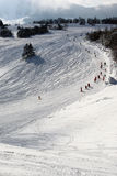 Ski slopes Stock Photos
