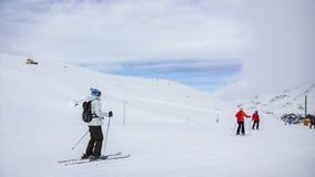 Ski Slopes Fotografia de Stock Royalty Free