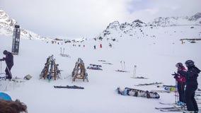 Ski Slopes Imagem de Stock Royalty Free