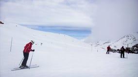 Ski Slopes Foto de Stock Royalty Free