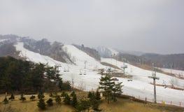 Ski Slopes Royalty-vrije Stock Fotografie