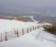 Ski Slopes Stock Foto