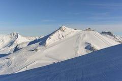 Ski Slopes Fotografie Stock Libere da Diritti
