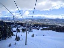 Ski slopes Stock Photography