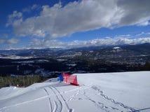 Ski slopes Royalty Free Stock Photos