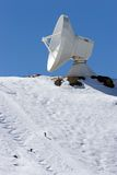 Ski slopes and observatory of resort in Spain Stock Photos