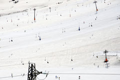 Ski slopes Stock Photography