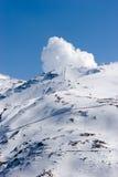 Ski slopes of Pradollano ski resort in Spain Stock Photography