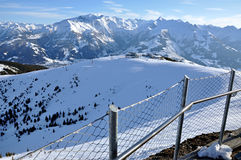 Ski slopes in Tirol Stock Images
