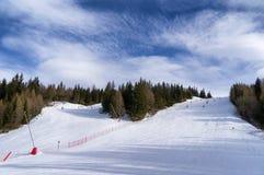Ski slopes in Val Malenco Stock Photos