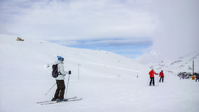Ski slopes Royalty Free Stock Photography