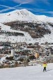 Ski slopes in the Via Lattea Stock Image