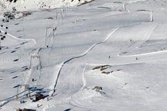 Ski slopes Stock Photos