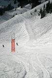 Ski Slow Skiers Sign stock photography