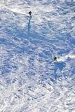 Ski sluttar Fotografering för Bildbyråer