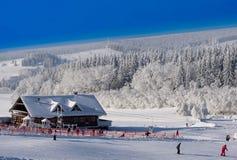 Ski sluttar Royaltyfria Foton