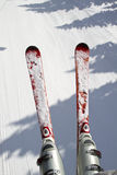 Ski and snow background Royalty Free Stock Photography