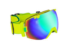 Ski or snowboard goggle Stock Photos