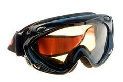 Ski and snowboard mask. Ski goggles isolated on white background Stock Image