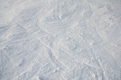 Ski and snowboard slope Stock Images