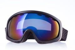 Ski sport glass, isolated on white Royalty Free Stock Photo