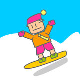 Ski Sport men Stock Images
