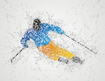Ski sport Royalty Free Stock Photography