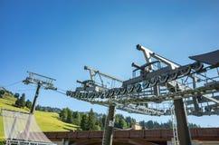 Free Ski Station In Summer Royalty Free Stock Image - 66441166