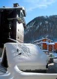 Ski station Royalty Free Stock Photography
