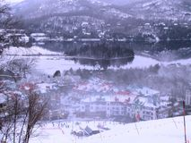 Ski Station Mont Tremblant Quebec Royalty Free Stock Photography