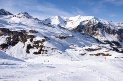 Ski station near Hintertux Glacier Royalty Free Stock Photo