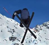 Ski Stunt Jump Stock Photos