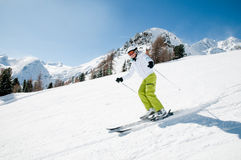 Ski, sun and fun Stock Photos