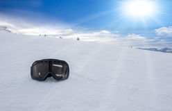 Ski sunglasses Royalty Free Stock Images